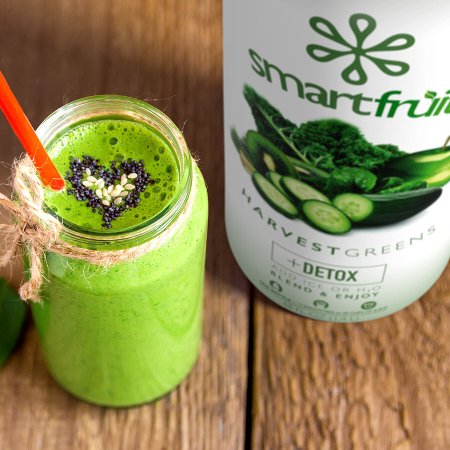 Harvest Greens Smoothie Mix Delivers the Best of Both Vegetables & Fruits